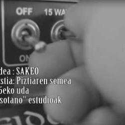 """Sakeo videoclip de """"Piztiaren Semea"""""""