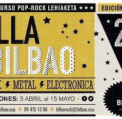 29 Concurso Pop Rock Villa de Bilbao inscríbete