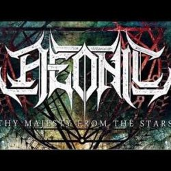 "Aeonic lyric-video de ""Thy Majesty From The Stars"""