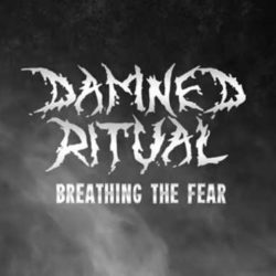 "Damned Ritual lyric-video de ""Breathing the Fear"""